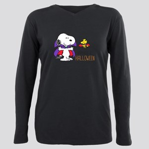 Peanuts - Halloween Happ Plus Size Long Sleeve Tee