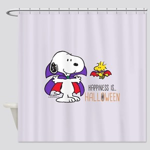 Peanuts - Halloween Happiness Shower Curtain