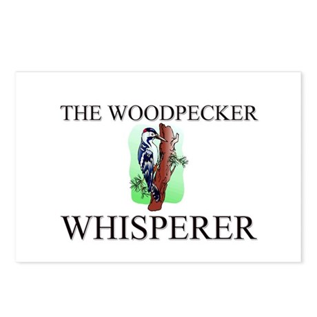 The Woodpecker Whisperer Postcards (Package of 8)