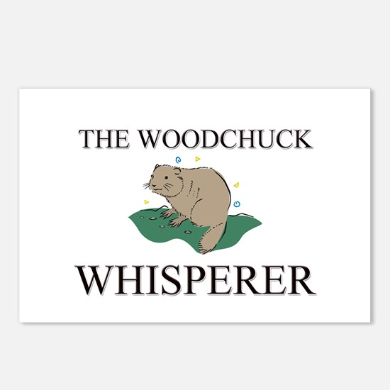 The Woodchuck Whisperer Postcards (Package of 8)