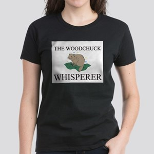 The Woodchuck Whisperer Women's Dark T-Shirt