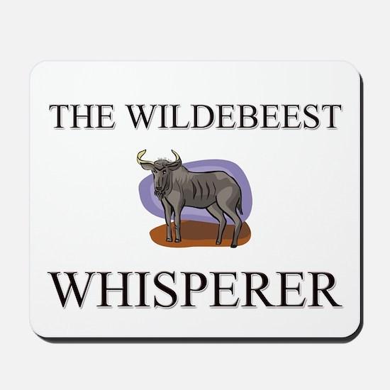 The Wildebeest Whisperer Mousepad