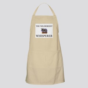 The Wildebeest Whisperer BBQ Apron