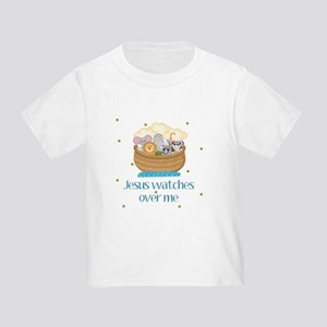 Jesus watches over me Baby Toddler T-Shirt