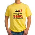 New HPR Certification Level 3 Yellow T-Shirt