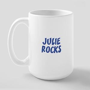 JULIE ROCKS Large Mug