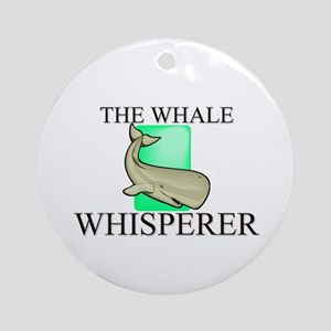 The Whale Whisperer Ornament (Round)