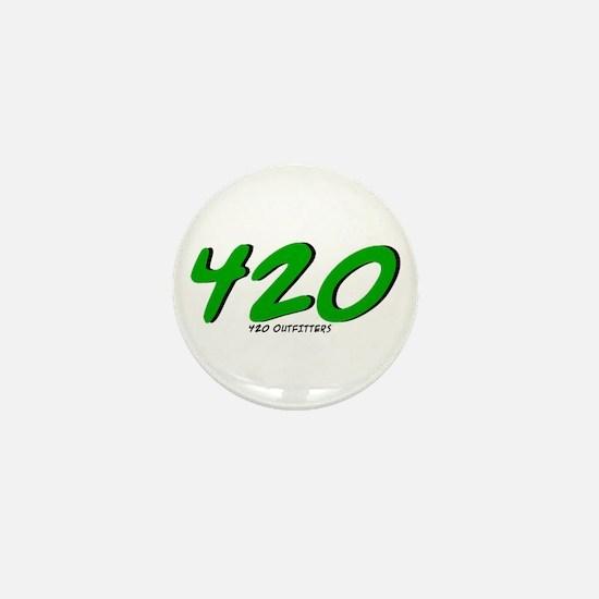420 Mini Button