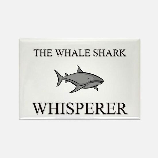 The Whale Shark Whisperer Rectangle Magnet
