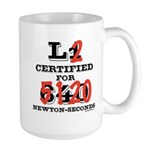 New HPR Certification Level 2 Large Mug