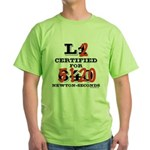 New HPR Certification Level 2 Green T-Shirt