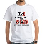 New HPR Certification Level 2 White T-Shirt