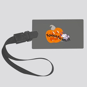 Snoopy - Spooktacular Large Luggage Tag