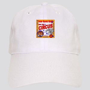 Retro Circus Baseball Cap