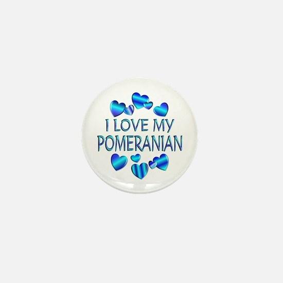 Pomeranian Mini Button