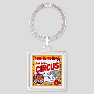 Retro Circus Keychains