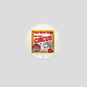 Retro Circus Mini Button