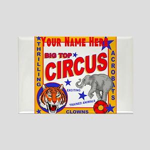 Retro Circus Magnets