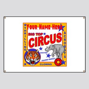 Retro Circus Banner