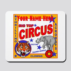 Retro Circus Mousepad