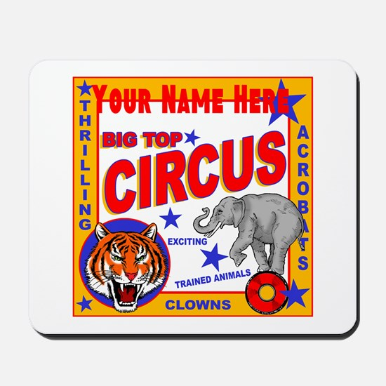 Retro Circus Mousepad
