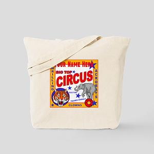 Retro Circus Tote Bag