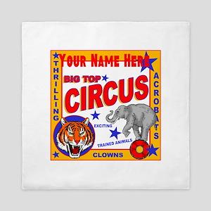 Retro Circus Queen Duvet