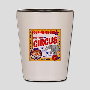 Retro Circus Shot Glass