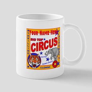 Retro Circus Mugs