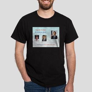 I Love My President Dark T-Shirt