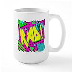 Rad! Large Mug