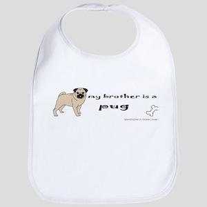 pug gifts Bib