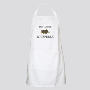 The Turtle Whisperer BBQ Apron