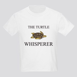 The Turtle Whisperer Kids Light T-Shirt
