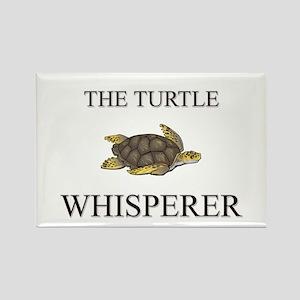 The Turtle Whisperer Rectangle Magnet