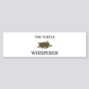 The Turtle Whisperer Bumper Sticker