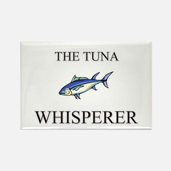 The Tuna Whisperer Rectangle Magnet