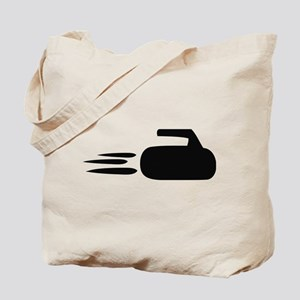 curling icon Tote Bag