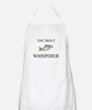 The Trout Whisperer BBQ Apron