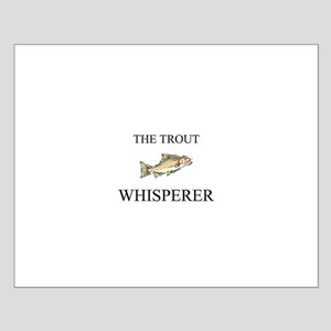 The Trout Whisperer Small Poster