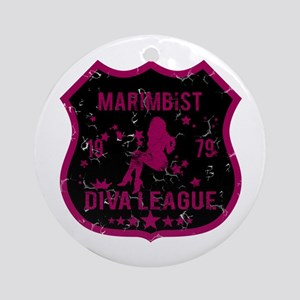 Marimbist Diva League Ornament (Round)