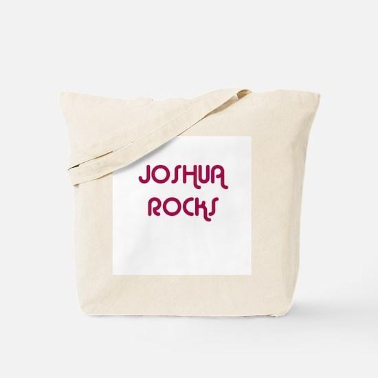 JOSHUA ROCKS Tote Bag