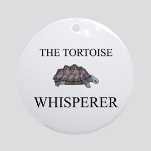 The Tortoise Whisperer Ornament (Round)
