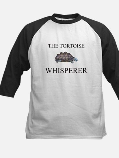 The Tortoise Whisperer Kids Baseball Jersey
