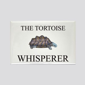 The Tortoise Whisperer Rectangle Magnet
