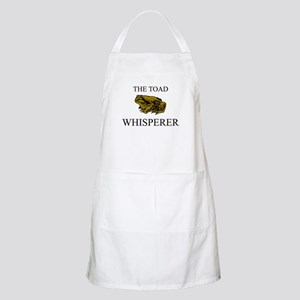 The Toad Whisperer BBQ Apron