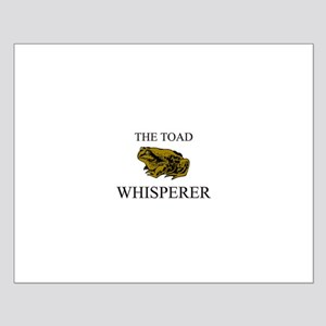 The Toad Whisperer Small Poster