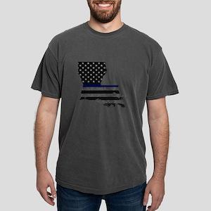 Louisiana Police Thin Blue Line T-Shirt