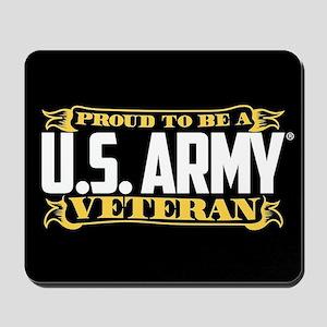 U.S. Army Proud Veteran Mousepad