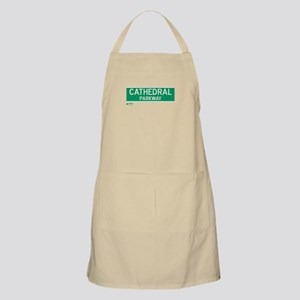 Cathedral Parkway in NY BBQ Apron